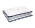 Baumwoll Bettbezüge Punkte grau Konfetti