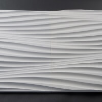 3D Wand aus Holz 001, fugenlose Verbindung