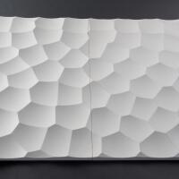 3D Wand aus Holz 088, fugenlose Verbindung