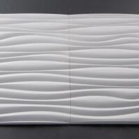 3D Wand aus Holz 015, fugenlose Verbindung