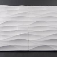 3D Wand aus Holz 039, fugenlose Verbindung