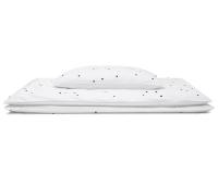 Hochwertige Kinderbettwäsche Punkte schwarz/ weiß günstig online kaufen