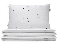 Bettwäsche Punkte schwarz/ weiß aus hochwertiger Baumwolle