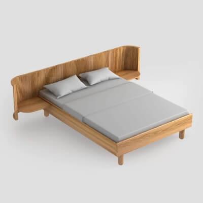 Hochwertige Bettwäsche PURE aus weißer Perkal Baumwolle