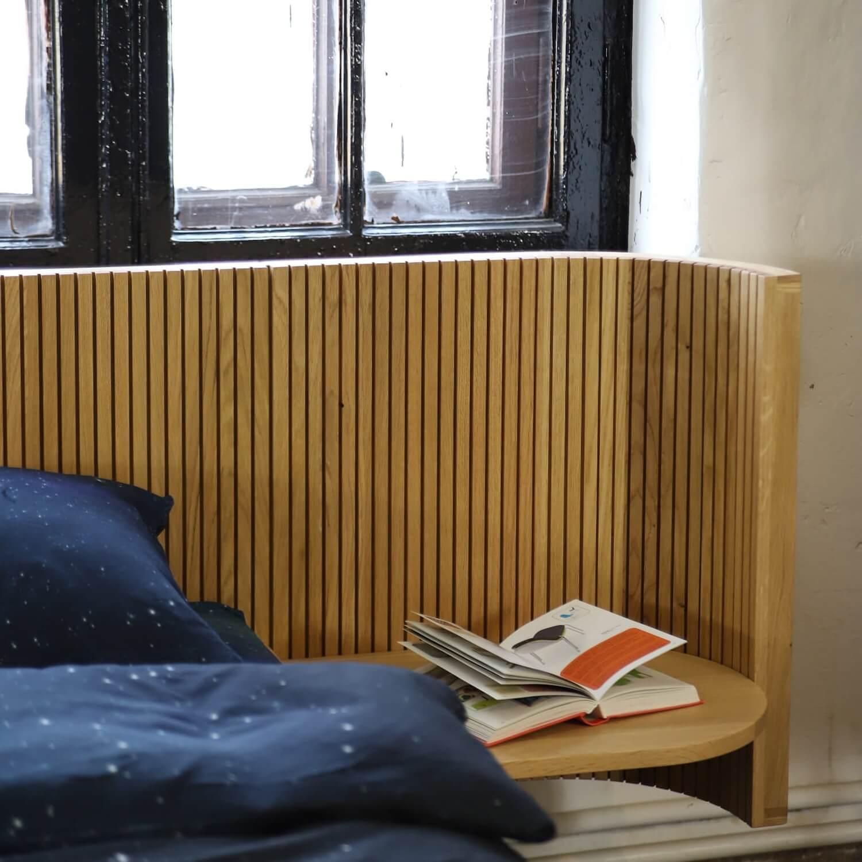Hochwertige Perkal Bettwäsche PURE aus pastellblauer BIO-Baumwolle