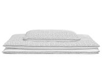 Hochwertige Bettwäsche gepunktet schwarz/ weiß günstig online kaufen
