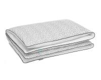 Bettwäsche gepunktet schwarz/ weiß aus Baumwolle hochwertig