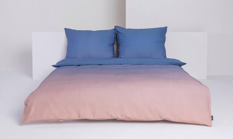 Foonka Bettwäsche Sunset Violet rosa