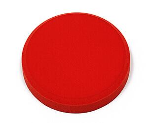 fluffo Farbe Crimson