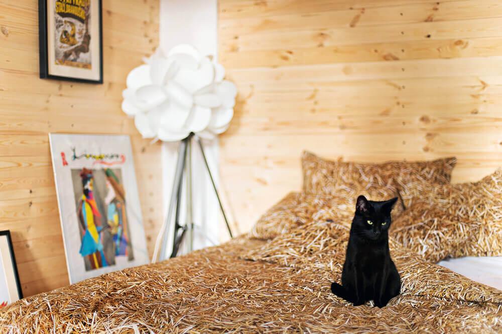Hochwertige Bettwäsche im Stroh Design ist ein ideales Geschenk