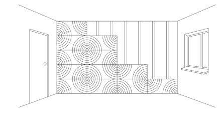 Einfach, schnelles Verlegen von 3D Wänden aus MDF Platten