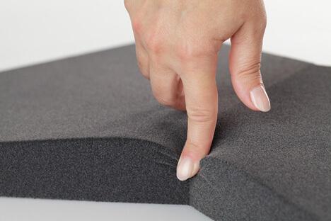 Weiche 3D Wandpaneele für moderne Wandgestaltung